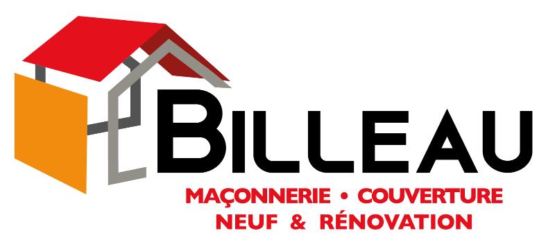 Logo de la maçonnerie Billeau à Chambretaud, pour la construction, la rénovation et la couverture